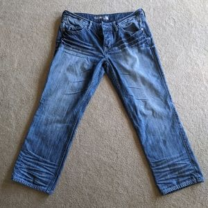 Express Size 8 Cropped Jeans